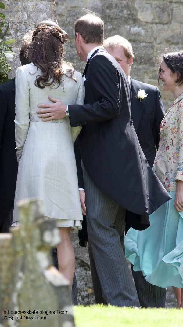 Duchess Kate: William and Kate Attend the Wedding of ...  Niece Wedding