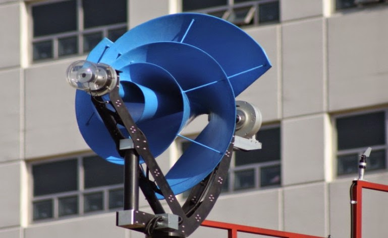 new generation urban wind turbines