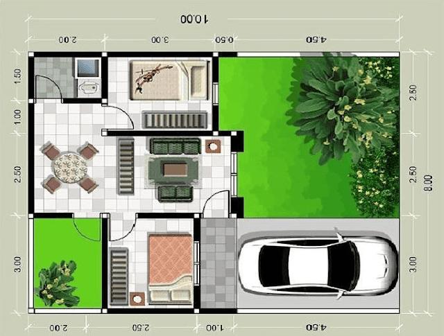 inspirasi konsep rumah minimalis type 36 21 70 60 terbaru
