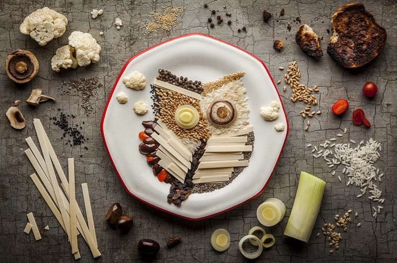 A Tribute to Budgie, Food Illustrations   Anna Keville Joyce