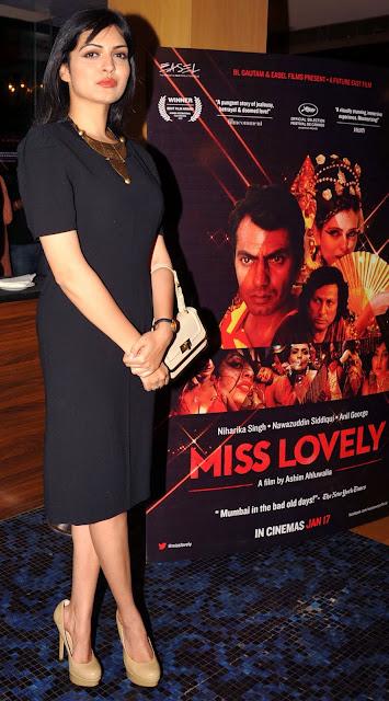 Miss, India, Earth, 2005, Miss Lovely, Bollywood, Showbiz, India, Mumbai, Actress, Niharika Singh, Forthcoming, Movie, Film, Hindi, Nawazuddin Siddiqui, Actor,