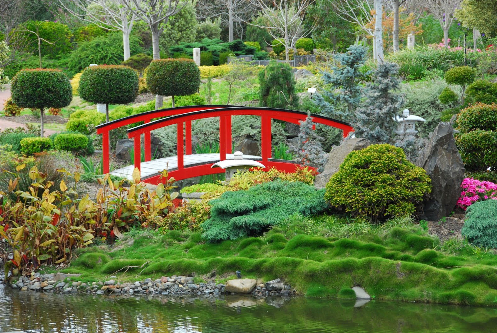Banco de im genes jard n japon s japanese garden for Figuras para jardin zen