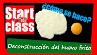 Como hacer la destrucción de un huevo frito - Ferran Adria