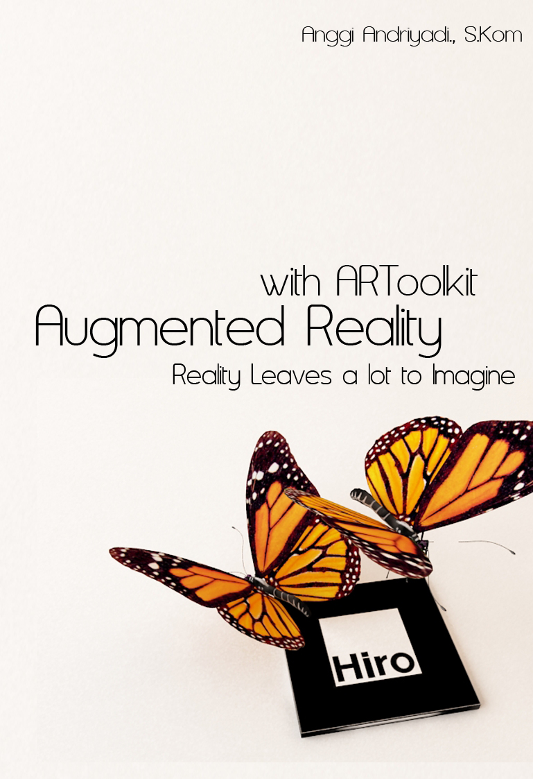 Buku Augmented Reality With ARToolkit (Klik Di Gambar Untuk Order Buku)
