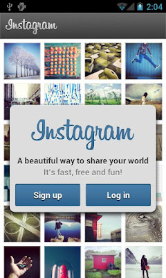 Immagine dell'home page di Instagram per Android