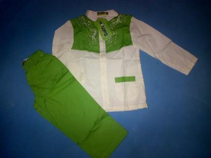 bg21+koko+safron+hijau+uk+4,6,8,10+Rp+75000 Koko Saffron, Baju Muslim Saffron