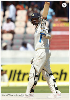 Murali-Vijay-50runs-India-v-Australia-2nd-Test