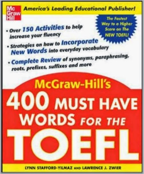 toefl vocabulary 400words flashcard Fry 1000 instant words: free flash cards and word lists for teachers  for the 100 fry nouns, i have included a colorful picture cue on each flashcard example.