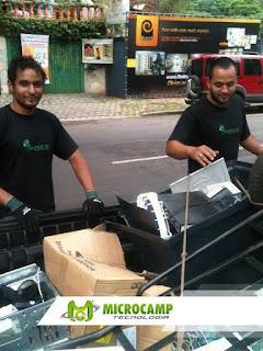 campanha lixo eletronico
