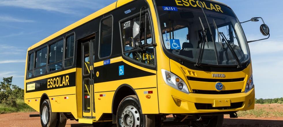 FOTOS novo ônibus escolar GranClass