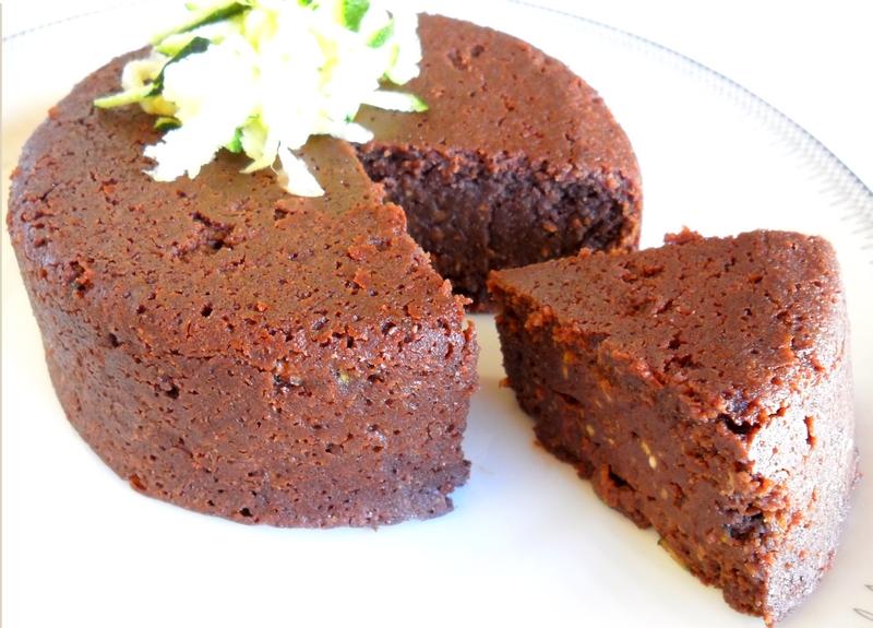 Aux Délices De Géraldine Fondant Au Chocolat Et à La Courgette