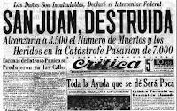 terremoto San Juan 1944