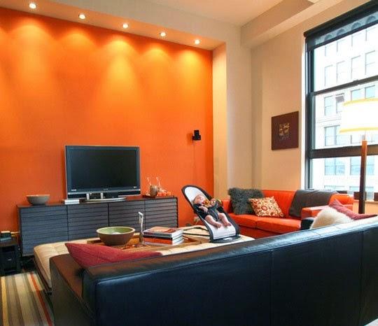 Decora hogar salas decoradas de chocolate y naranja 10 fotos for Decoracion de salas pequenas color chocolate