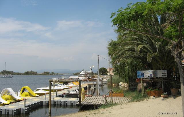 Le blog de clementine l 39 ile aux loisirs port leucate - Location bateau sans permis port leucate ...