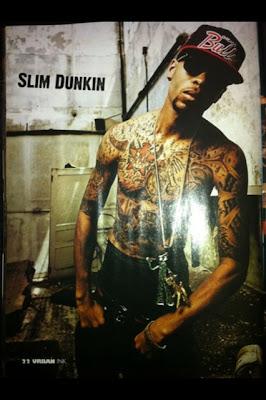 slim dunkin tattoos