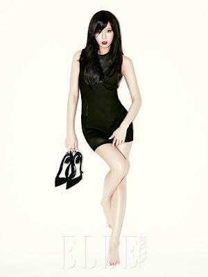 Hyuna 4minute Elle Magazine July 2013