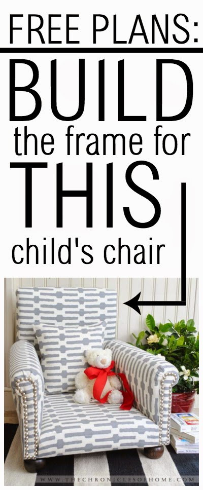 FREE PLANS - how to build a child-sized chair