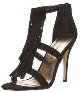 Zapatos de Tacón Alto, Con Flecos