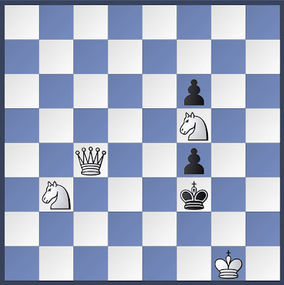chess, check mate, mate in 3, chess problem, white to move