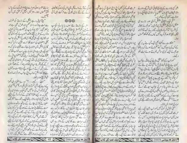 Kitab dost aik qissa gul e gulab novel by syeda gul bano for Syeda gul bano novels