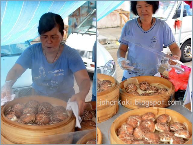 Mushroom-Pau-Johor-Bahru-Pasar-Malam-養生蘑菇包