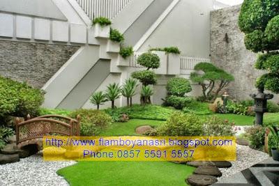 Tukang Taman Surabaya Tema Modern