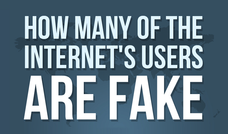 The state of fake web users - #infographic Did you know that only 39% of Internet Traffic Is Coming From Real Humans