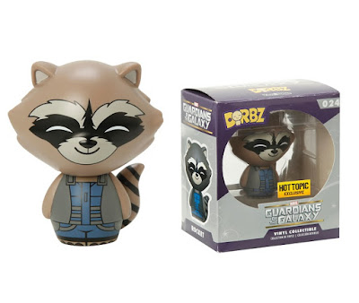"Hot Topic Exclusive Guardians of the Galaxy ""Blue & Grey"" Rocket Raccoon Marvel Dorbz Vinyl Figure"