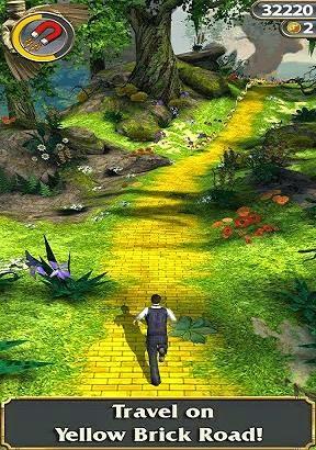 تحميل لعبة مغامرات المعبد اوز Temple Run OZ للاندرويد