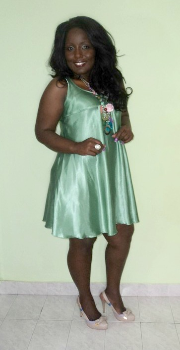 Vestido verde comprar