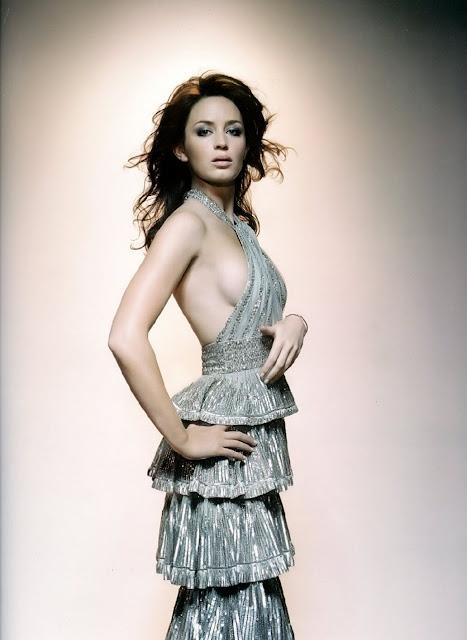 Emily Blunt in Dress