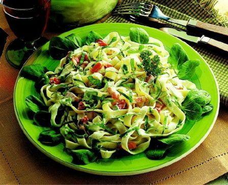Id e recette rapide et facile tagliatelles carbonara la m che plat rapide et facile recette - Repas de tous les jours ...