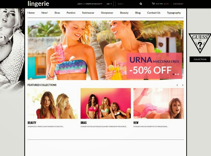 Instyle - Lingerie Store Responsive Shopify Theme