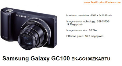 Samsung Galaxy GC100 EK-GC100ZKABTU review
