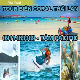 tour biển đảo coral thái lan