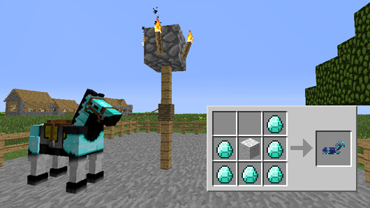 Minecraft Mods Craftable Horse Armor 1 6 4 Download