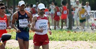 ATLETISMO - García Bragado ya es el atleta con más mundiales en sus piernas