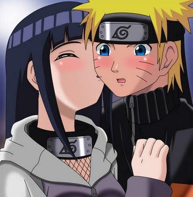 Naruto Kissed by Hinat...