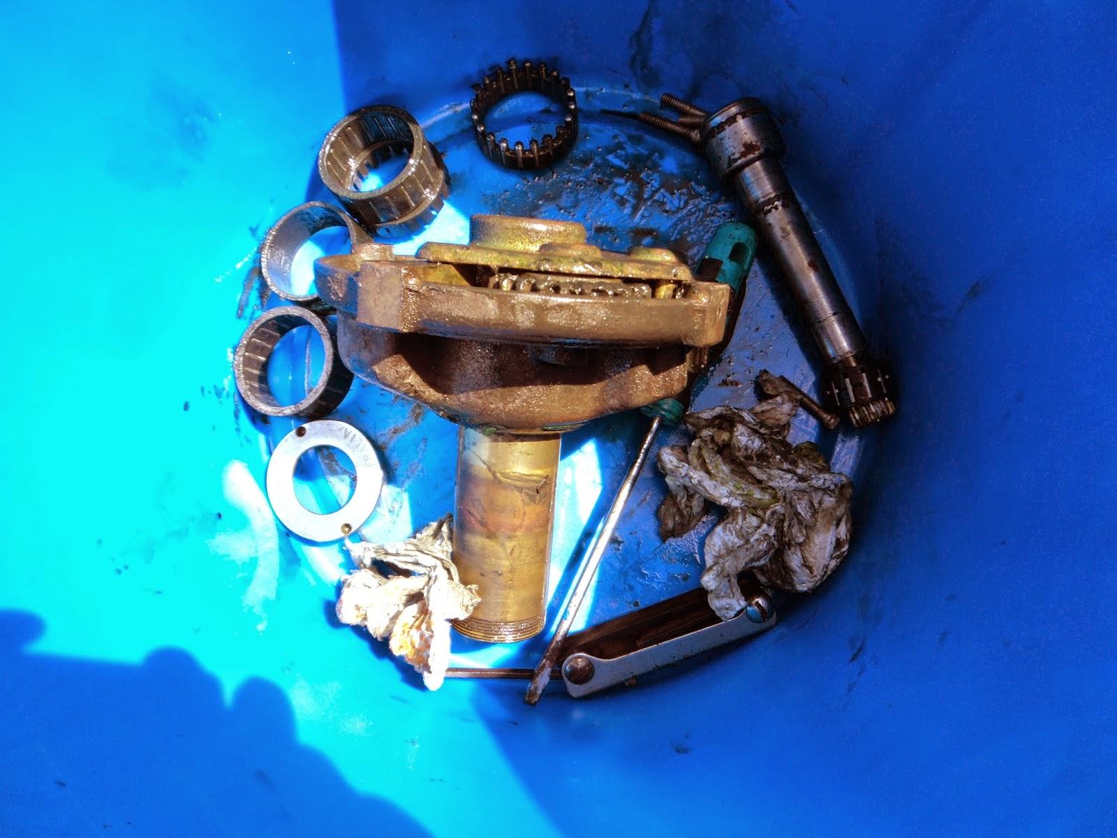 Barlow 28 winch parts