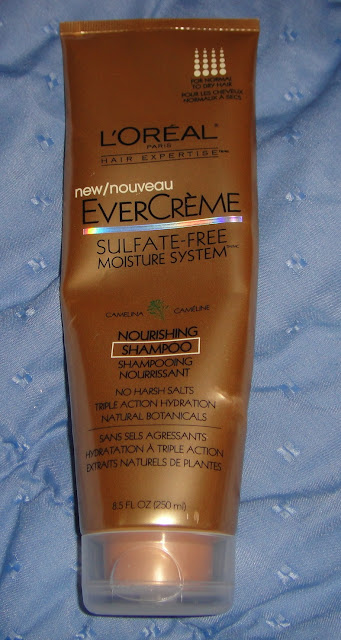 L'oreal, Sulfate-free shampoo, L'oreal's evercreme, evercreme, nourshing shampoo