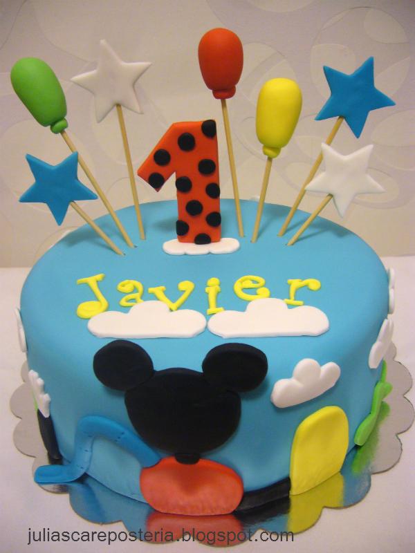 de las tartas - Cake Design: Tartas Mickey Mouse, todos los modelos ...