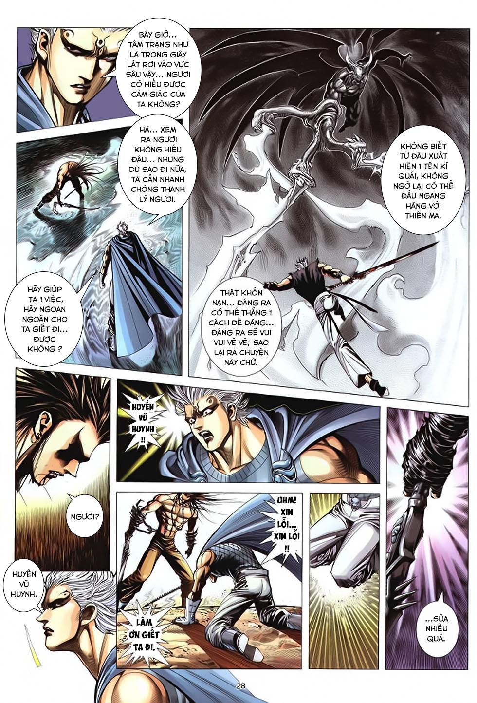 Chiến Thần Ký chap 39 - Trang 29