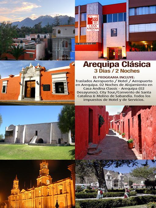 Coastal tours peru arequipa disfruta con casa andina for Hotel casa andina arequipa