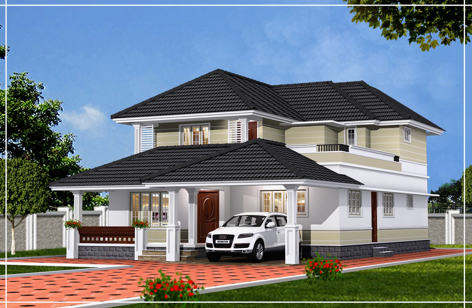 Friendsthiruvalla POSH HOUSE FOR SALE 2950 SQ FT AT PODIYADI