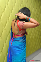 actress anjali hot saree photos at masala telugu movie audio launch+(13) Anjali Saree Photos at Masala Audio Launch