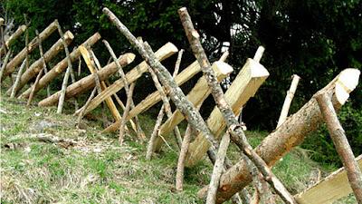 recinzione steccato Schrankzaun