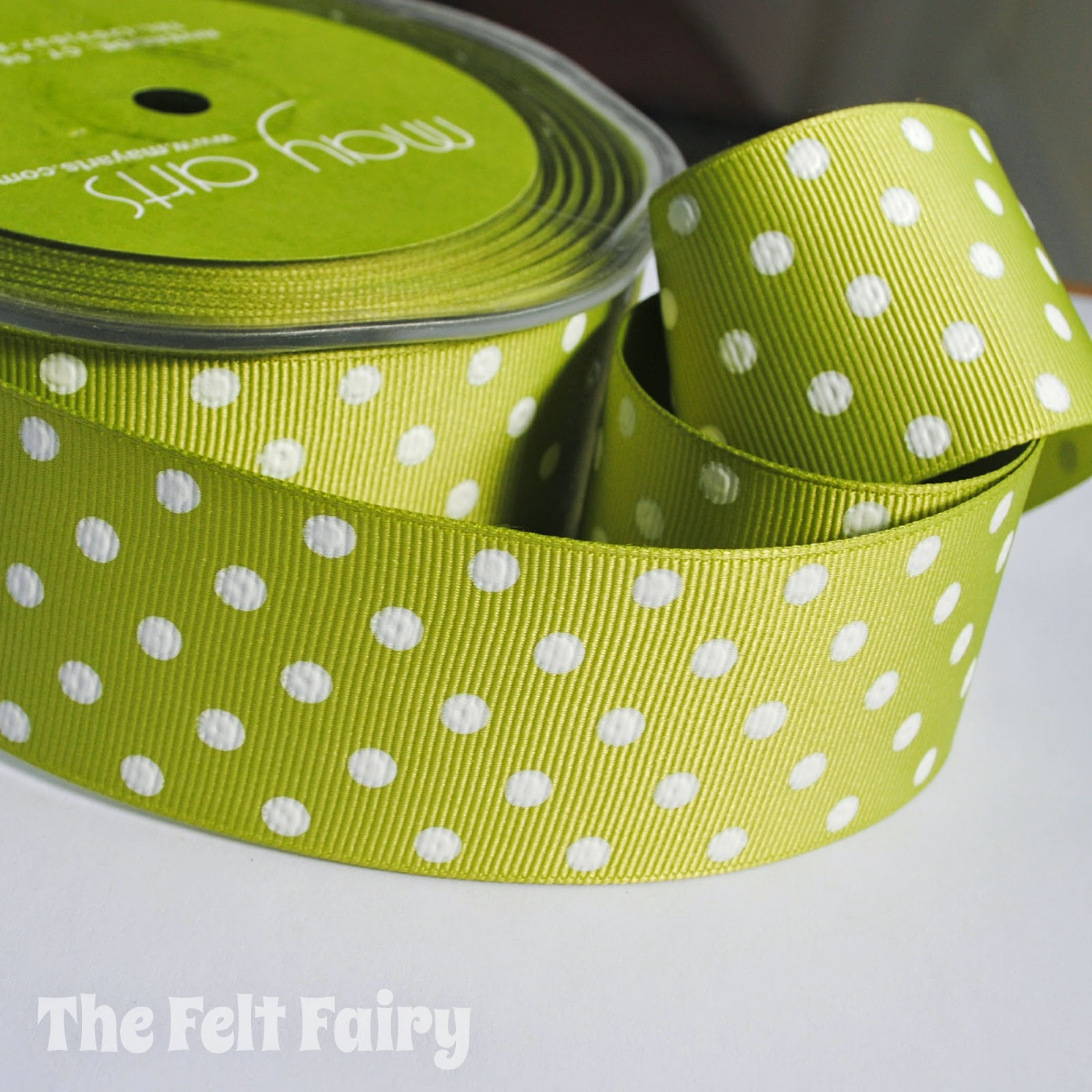 Polka Dot Ribbon - May Arts