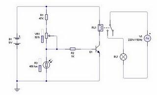 Light Sensor Circuit