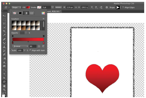 tutorial photoshop, vektor, shapes tool, photoshop cs6, belajar photoshop