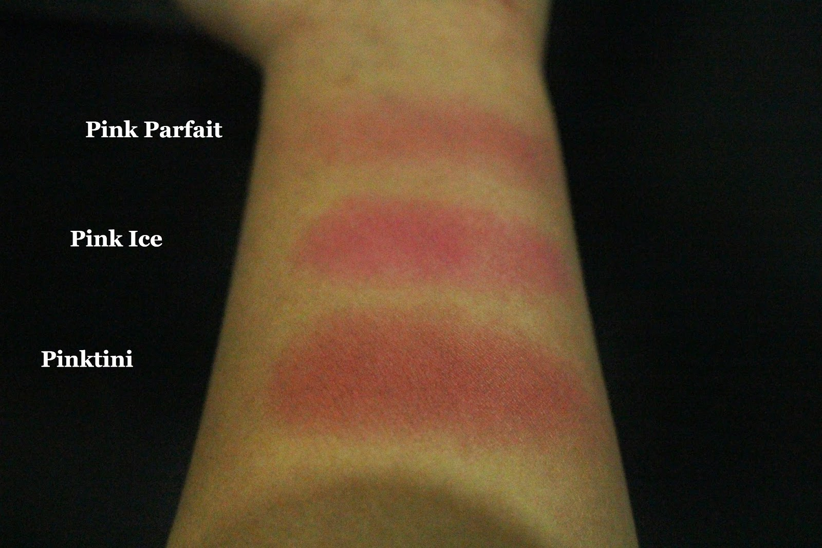 Sleek Blush By 3 - Pink Sprint Swatches